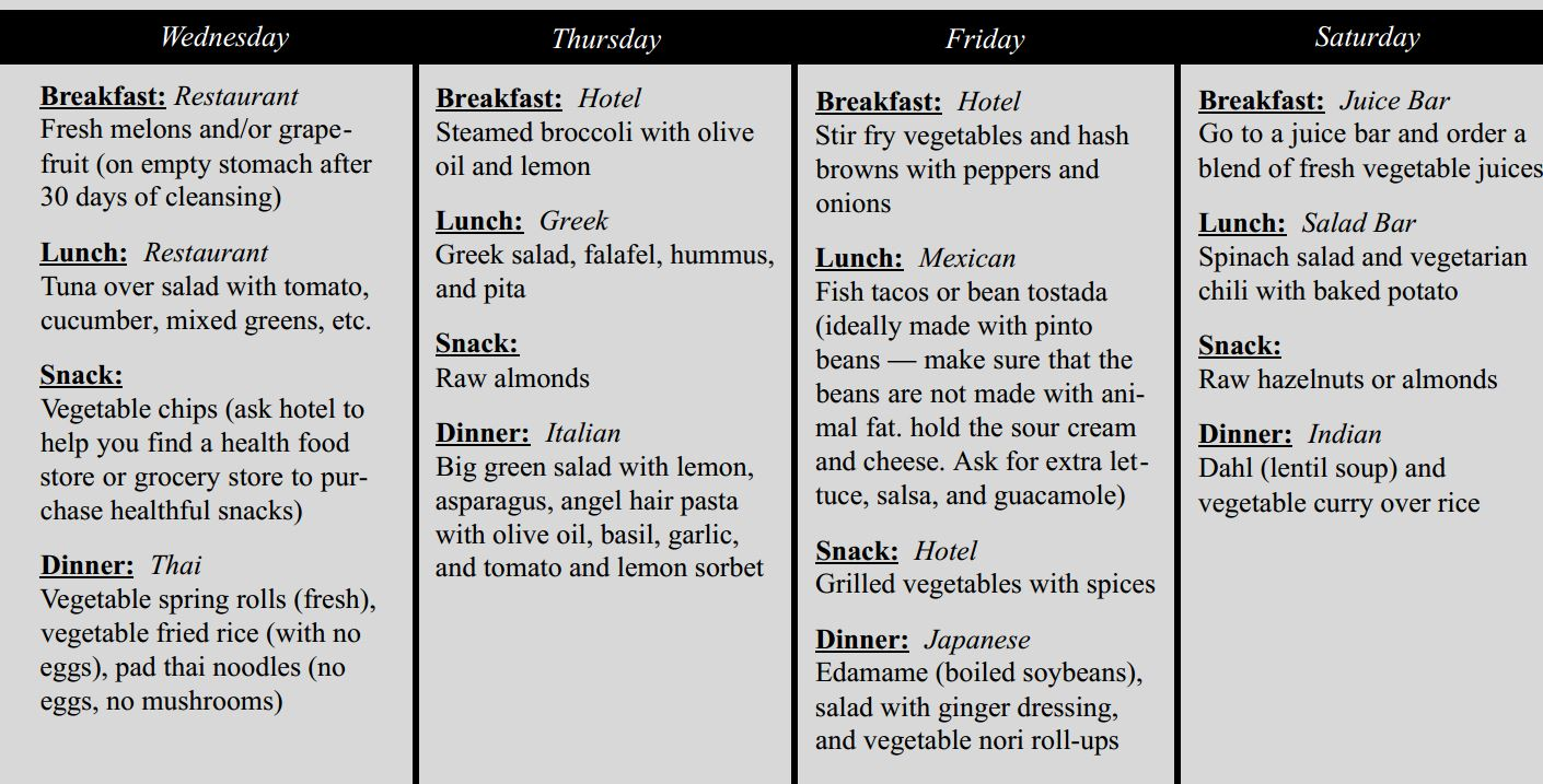menu for the healthy plus kitchen tips – senior care and disease