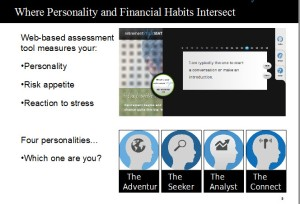 financial habits and personality