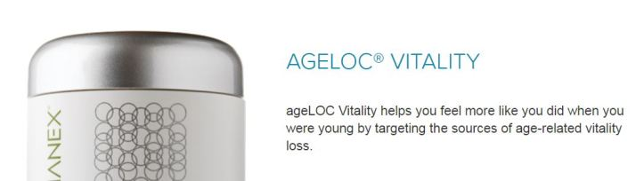 ageloc vitality 11