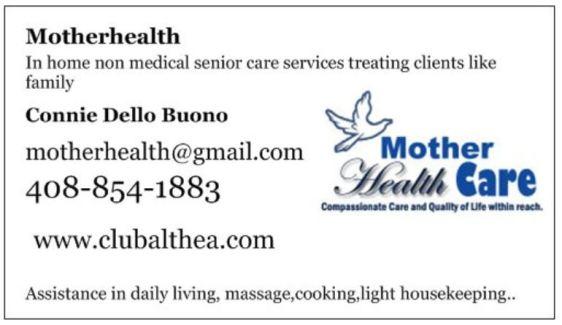 new business card motherhealth