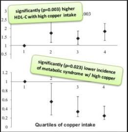 zinc and copper and glucose